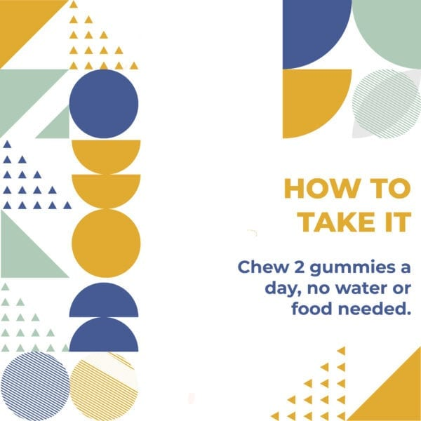 How to take multi vitamin Gummies? Just chew one or two gummies daily