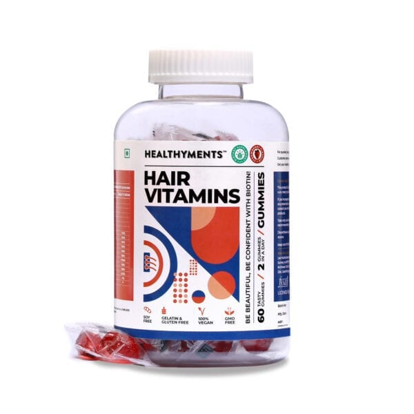 Hair Vitamin supplements gummies for hair fall and hairgrowth with Biotin